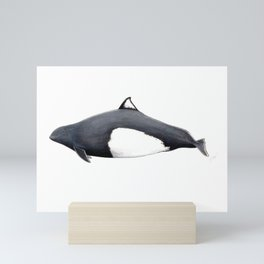 Dall´s porpoise Mini Art Print