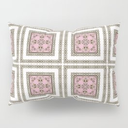 Black and white ornament Pillow Sham