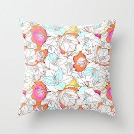 Early Bloomer #society6 #decor #buyart Throw Pillow