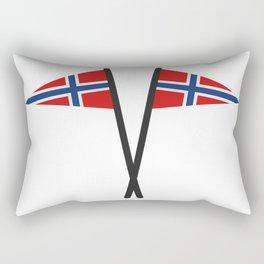 Norway flag Rectangular Pillow