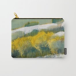 First Snow Landscape Painting / Dennis Weber / ShreddyStudio Carry-All Pouch