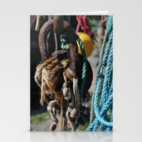 tool Stationery Cards featuring fisherman's tool by  Agostino Lo Coco
