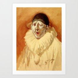 """The Grey Clown"" by Gustave Doré Art Print"