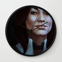 Mass Effect: Miranda Lawson Wall Clock