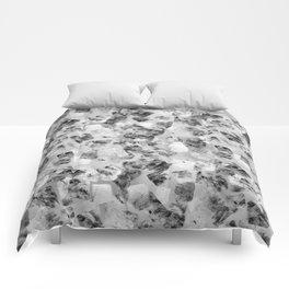 tear down variant (monochrome series) Comforters