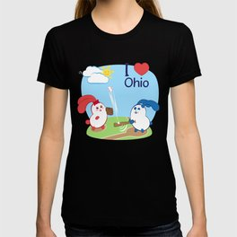 Ernest and Coraline   I love Ohio T-shirt