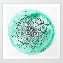 Nathalie Art Print