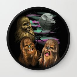 That's No Moon Wall Clock
