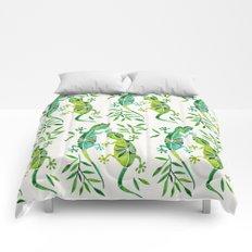 Geckos – Green Palette Comforters