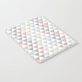 Geometric Pattern Wanderlust Pastel Notebook