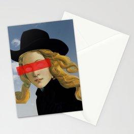Das Mädchen mit dem Hut Stationery Cards
