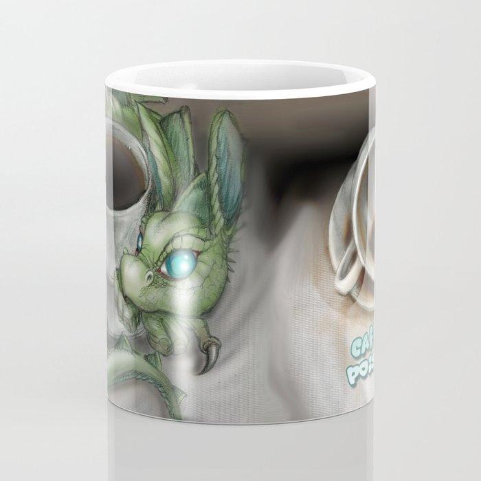 Caffeine Poisoned Dragon Coffee Mug