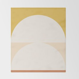 Abstract Geometric 01 Throw Blanket