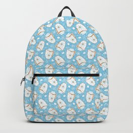 Snowing Marshmallow - Cocoa Backpack