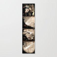 Black to white (full serie) Canvas Print