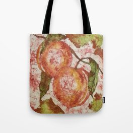 PEACHES FROM THE GODS Tote Bag