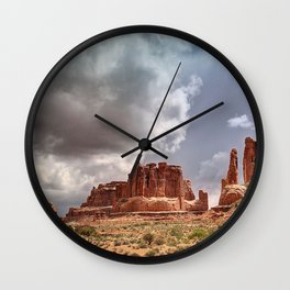 Moab - Red Rocks Country Wall Clock