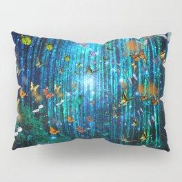 Magical Path Butterflies Pillow Sham