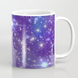 Psychedelic Galaxy Snail Coffee Mug