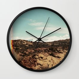 First of the Roll / Utah on 35mm Wall Clock
