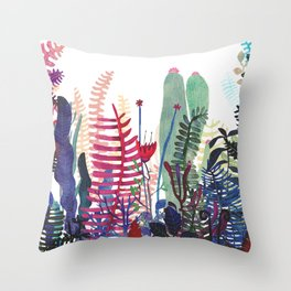 Nature Mix Throw Pillow