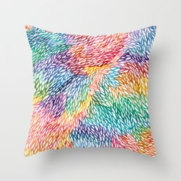 'Leaves some Space' Throw Pillow