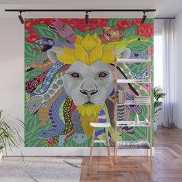Medusa Lion(ess) Wall Mural