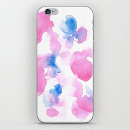 18015 Watercolour Abstract Wp 12   Watercolor Brush Strokes iPhone Skin