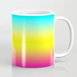Ombre Magical Rainbow Unicorn Colors Coffee Mug