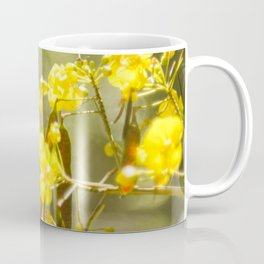 Popcorn Flower Bokeh Delight Variation Coffee Mug