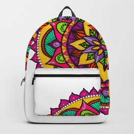Mandala flores Backpack