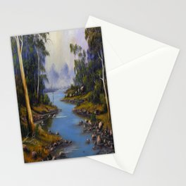 RIVER GUMTREES Stationery Cards