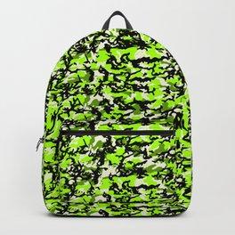 TCR-CAMO PRINT back pack -green Backpack