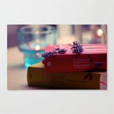 Rain, Hesse and Lavender Canvas Print