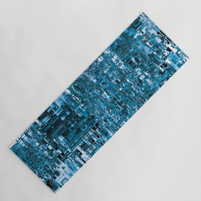 Circuitry Abstract Yoga Mat