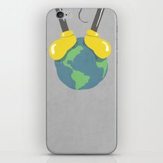 it is a small world after all (mouse version) iPhone & iPod Skin