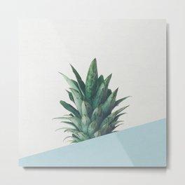 Pineapple Dip II Metal Print