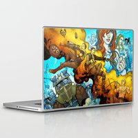 mad max Laptop & iPad Skins featuring MAD MAX  -  fury road by Renie Draws