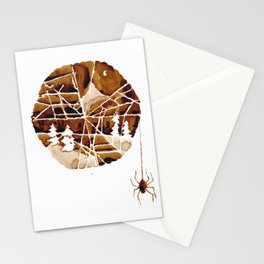 the mountain and the spider Stationery Cards