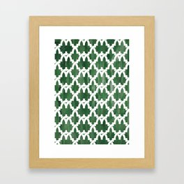 Al-Hamra gardens Framed Art Print