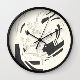 Composition #5 2016 Wall Clock