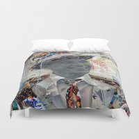 frank Duvet Covers featuring Frank by Katy Hirschfeld
