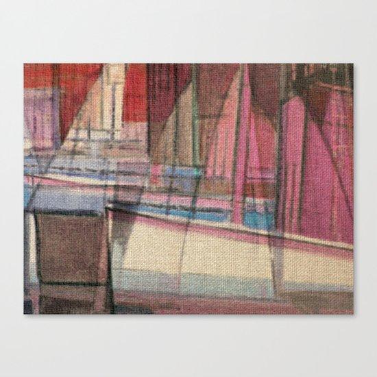 Stilt House 3 Canvas Print