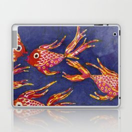 Goldfish batik Laptop & iPad Skin