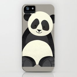 Whimsy Giant Panda iPhone Case