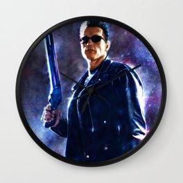 The Terminator Wall Clock