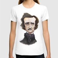 poe T-shirts featuring Poe by Vito Quintans