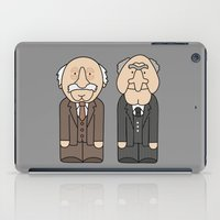 muppets iPad Cases featuring Statler & Waldorf – The Muppets by Big Purple Glasses