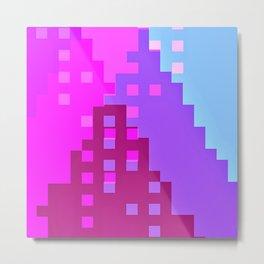 colorful city Metal Print