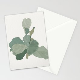 Rachel's Fiddle Leaf Stationery Cards
